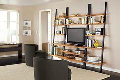 Gallery Modern Media Leaning Shelf - Modern Media Storage - Modern Living Room Furniture - Room & Board
