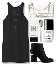 Untitled #868 by andreiasilva07 on Polyvore featuring MANGO, Alexander Wang, Chanel, H&M, Make and Crate and Barrel