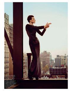 Milla Jovovich : Vogue Paris February 2013 : Inez & Vinoodh