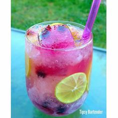 Yummmm for skinny drinks this summer!