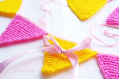 Knitted bunting knit bunting knitted nursery by CuteLambKnitting