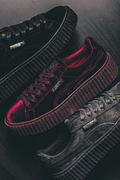 8a56e8ca06c Rihanna s Puma x Fenty Suede Creepers (3 Colors)   129.95 Creepers Shoes  Puma