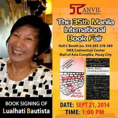 Sa mga magpapasign ng Book with Ms Lualhati Bautista #MIBF @ManilaBookFair pic.twitter.com/n27QyOct0B International Books, Book Signing, Convention Centre, Powerful Women, Writers, Ms, Twitter, Writer, Author