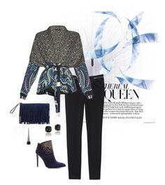 Stormy by asilosky on Polyvore featuring polyvore, fashion, style, Etro, Rebecca Taylor, French Connection, BCBGeneration, Tacori, Karen Kane, Christian Louboutin and clothing
