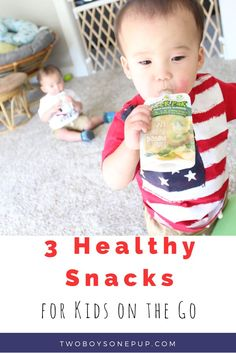 Healthy, organic snacks for babies and toddlers with no GMOs and no artificial ingredients. Perfect for kids on the go! | vegan | gluten free | baby food | toddler snacks | kid snacks | pouches | easy snacks | #sproutfoods @sproutfoods #ad