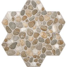 FLOORS 2000 5-Pack Agrega Beige Glazed Porcelain Floor Tile (Common: 18-in x 18-in; Actual: 17.75-in x 17.75-in)