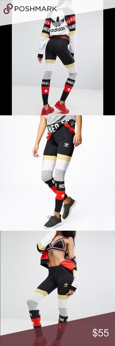 7281d5c958d1e Adidas originals Rita Ora tights medium Hard to find tights by Adidas colab  with Rita Ora. Banned From Normal leggings with mesh insert.