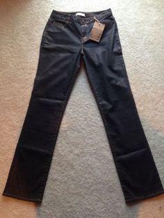 Coldwater-Creek-Subtle-Sheen-Straight-Leg-Jean-Size-8R-MSRP-89-95-2942