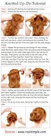 How-to DIY: Knotted Up-Do
