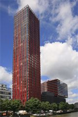 The Red Apple a Rotterdam, Holland de KCAP Architects & Plamers