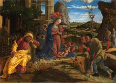 Andrea Mantegna - The Adoration of the Shepherds