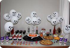 Decoração Festa de Halloween : Mesa do Dia das Bruxas