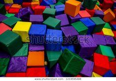 Soft Colored Cubes: stock fotografie (k okamžité úpravě) 1219595488 Cubes, Color, Image, Art, Art Background, Colour, Kunst, Performing Arts, Art Education Resources
