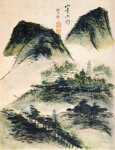 사직노송도(社稷老松圖) 선비의 절개와 기개를 상징하는 소나무는 세한도(歲寒圖)에서도 나타나듯이 예로부터 그 상징성으로 인해 선비그림에서 적지 않게 애호를 받아 온 주제였다. 그러나 이처럼 소나무만을 단일 주제로 아무 배 Korean Art, Asian Art, Drawing Practice, Seoul, Plane, Folk, Gallery, Drawings, Illustration