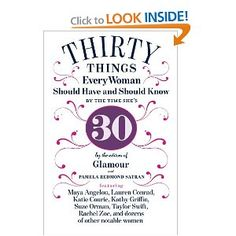 30 things every woman should know by the time she's 30...
