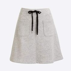 Crew Factory for the Cotton terry mini skirt for Women. Find the best selection of Women Skirts available in-stores and online. Sporty Outfits, Trendy Outfits, Cute Outfits, Trendy Clothing, African Wear, African Fashion, Girls Dresses Sewing, Fall Fashion Trends, Plus Size Fashion