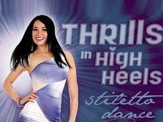 """Thrills in High Heels - Stiletto Dance Nightclub Style"" #dance #dancing #star #dancer #nightclub #stiletto #heels #highheel #club Dance, fitness, modeling instruction / classes  - video / DVD / iPhone, iPad Apps:  http://www.WorldDanceNewYork.com"
