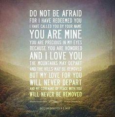 I am His