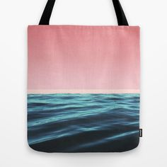 OCEAN LOVE Tote Bag #totebag #totes #tote #beachbag #beachwear #beach #ocean #accessory #summeraccessory #trend #trending #trendy #pink #girly #summer2016