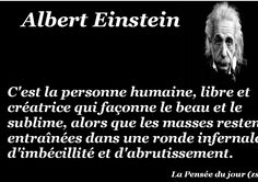 Citation Einstein, Albert Einstein, Jolie Phrase, E Mc2, Blog Page, Jokes, Positivity, Messages, Dire