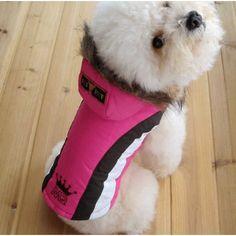 Abrigo para perros, protege a tu amigo del frío y la lluvia con este abrigo de bonito diseño y gran calidad.