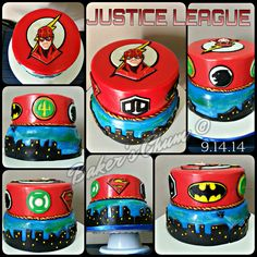 Justice League Cake