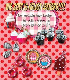 Ga alvast aan de slag voor de sint... de leukste en lekkerste dingen maak je zelf! Dit jaar geen snoep maar snoepige sieraden in de schoentjes! ook leuk voor een kinderpartijtje... zelf sieraden maken!!!