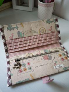 Paris Sewing Craft Long Wallet