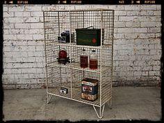 Holy Funk - Industrial Wire Bookshelf, $349.00 (http://www.holyfunk.com.au/furniture/industrial-wire-bookshelf/)