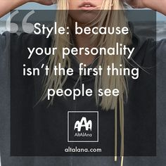 Style quotes. www.altalana.com