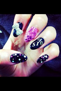 Zendayas nails - tips by esNAIL Really Cute Nails, Super Cute Nails, Fabulous Nails, Gorgeous Nails, Amazing Nails, Zendaya Nails, Hair And Nails, My Nails, Celebrity Nails