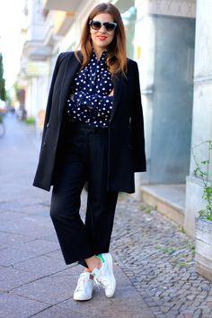 JOURlook: Ines de la Fressange für Uniqlo (plus Blusen zu gewinnen!) - Journelles