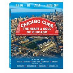 Chicago Cubs: The Heart And Soul Of Chicago Blu-ray Combo Pack