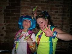 Candy Raver - this brings back so many memories, but I think we dressed way better than these chicks.
