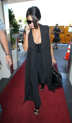 Selena Gomez Airport Style – LAX, September 2015