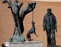 Hanging dogs in Spain | Animals in Spain | Spain Buddy