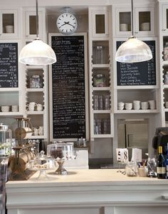 "How darling is this Bakery! It reminds me of Meryl Streep's shop in ""It's Complicated"""