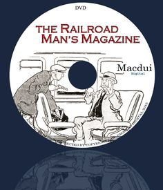 The Railroad Mans Magazine Argosy Railroad by MacduiDigital Old Magazines, Vintage Magazines, Male Magazine, Ebooks, Collections, Handmade Gifts, Etsy, Kid Craft Gifts, Craft Gifts