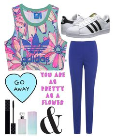 """Work Out Style"" by dreamingdaisy ❤ liked on Polyvore featuring adidas Originals, Phase Eight, Gucci and Calvin Klein"