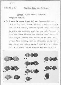 Visa bild | Sök i samlingarna | Historiska museet Visa, Fasteners, 16th Century, Hooks, Eyes, Pictures, Cat Eyes, Wall Hooks, Crocheting
