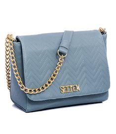 f6f81c23b Bolsa Selten Baú Tote Bag Baby Blue Transversal e De Mão - Selten Bolsas