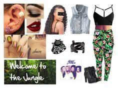 61->Welcome to the Jungle by dimibra on Polyvore featuring Yves Saint Laurent and Charlotte Tilbury