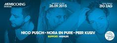 MFM: Peer Kusiv, Nico Pusch, Nora en Pure & Highlife at Zig Zag