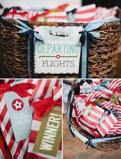 Vintage Airplane 1st Birthday party  // Sweet and Saucy // Posh Paperie // © Jackie Wonders Photographer 2012
