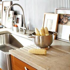 New kitchen countertops that are durable and attractive without taking over the whole look of the kitchen would be great!