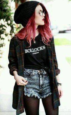 Casual Grunge Outfit For Stylish Look