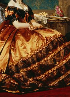 Little rainbow book, warpaintpeggy:   INCREDIBLE DRESSES IN ART (103/∞)...
