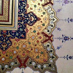Islamic Motifs, Islamic Art Pattern, Persian Motifs, Pattern Art, Illumination Art, Islamic Paintings, Iranian Art, Islamic Wall Art, Arabic Art