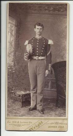 Spanish American War CDV 1898 U s Soldier | eBay