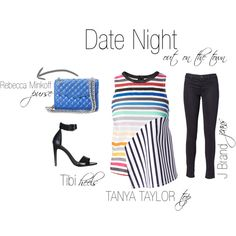 """Date Night"" by shopeluxe on Polyvore"